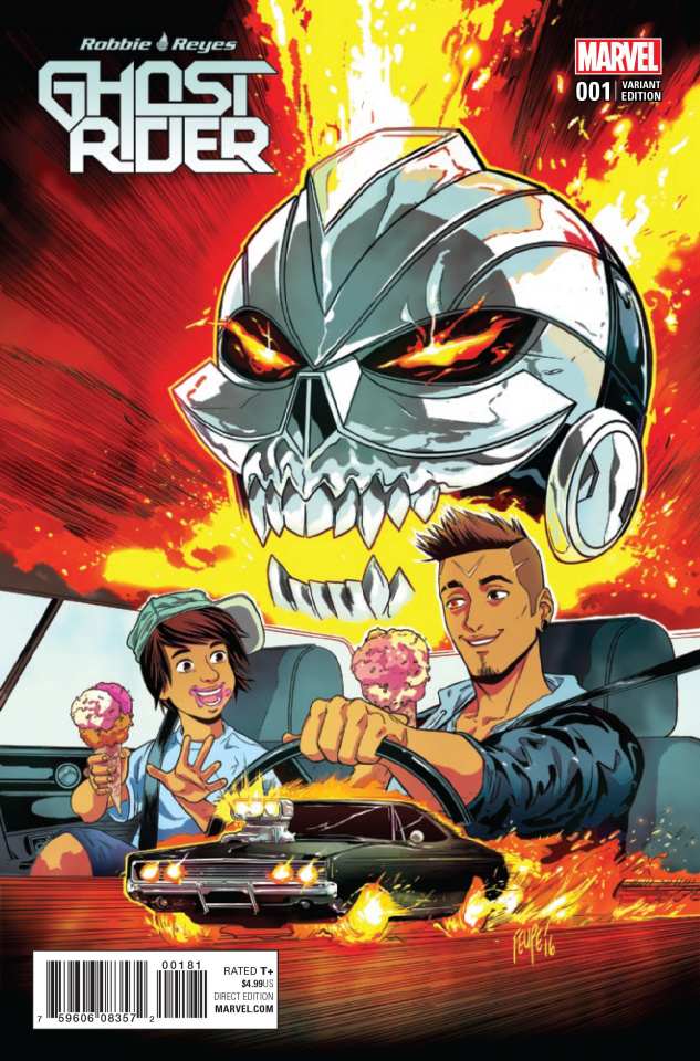 Ghost Rider #1 (Smith Cover)