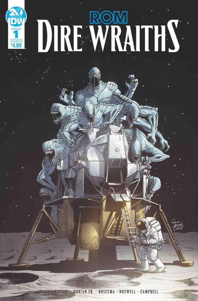 ROM: Dire Wraiths #1 (Howell Cover)