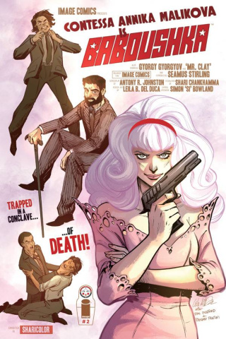 Codename Baboushka: The Conclave of Death #2 (Del Duca Cover)