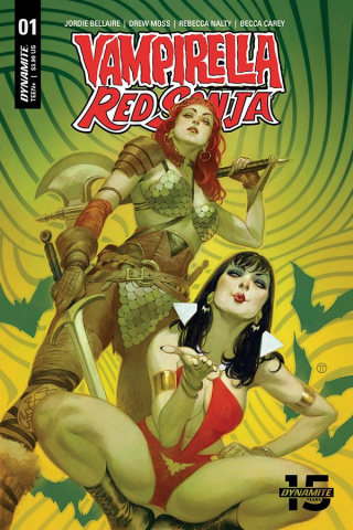 Vampirella / Red Sonja #1 (Tedesco Cover)