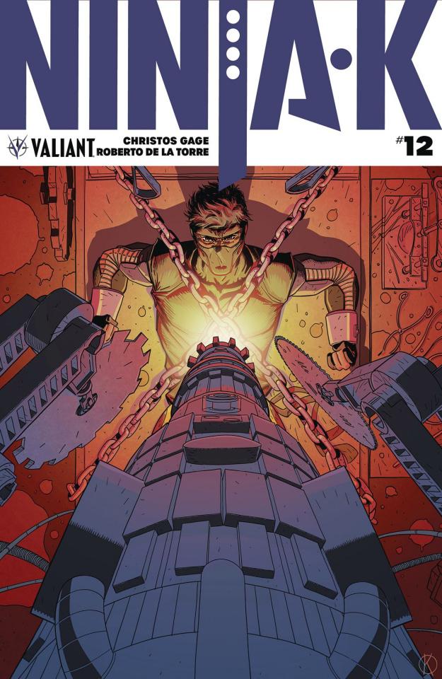 Ninja-K #12 (Kano Cover)