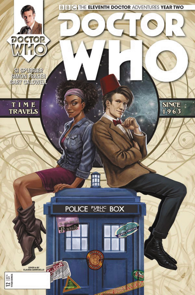 Doctor Who: New Adventures with the Eleventh Doctor, Year Two #12 (Ianniciello Cover)