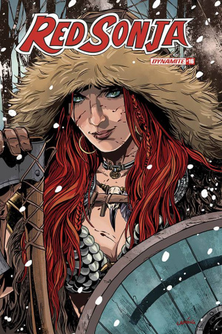 Red Sonja #16 (Laming Cover)