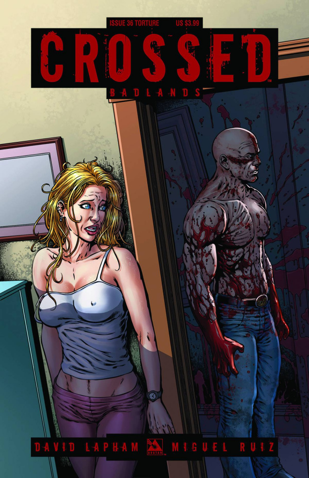 Crossed: Badlands #36 (Torture Cover)