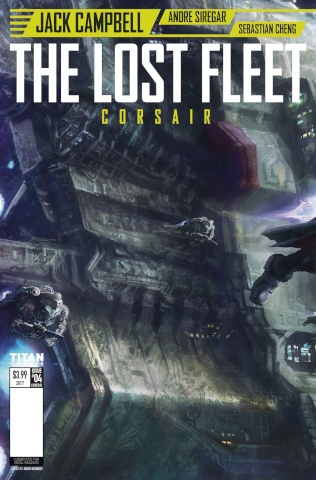 The Lost Fleet: Corsair #4 (French Wraparound Cover)