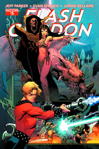 Flash Gordon #5 (80th Anniversary Castro Cover)