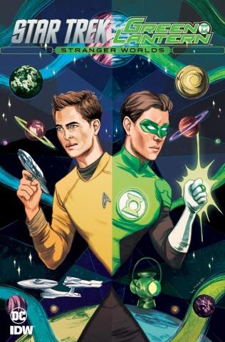 Star Trek / Green Lantern #3 (Subscription Cover)
