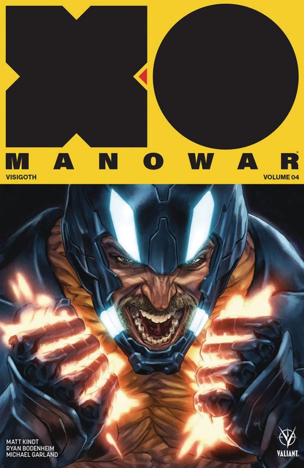 X-O Manowar Vol. 4: Visigoth