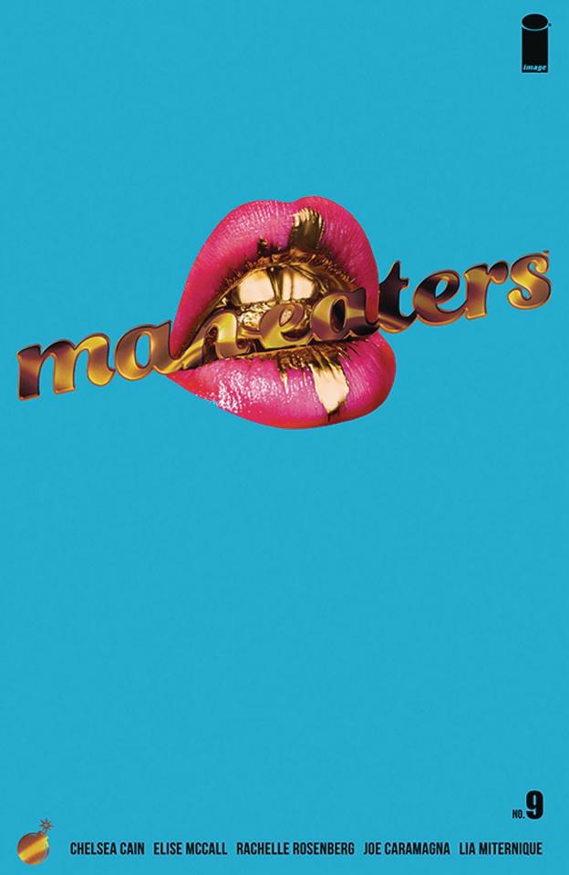 Man-Eaters #9 (Miternique Cover)