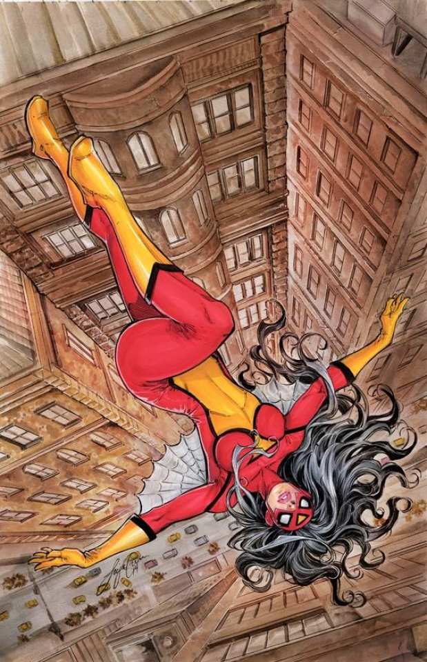 Spider-Woman #1 (Oyum Cover)