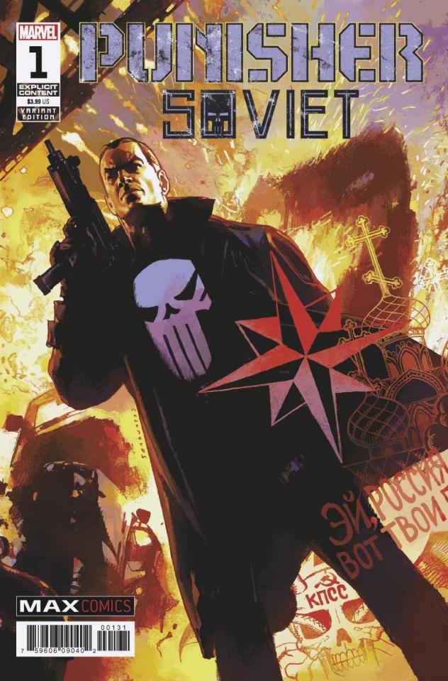 Punisher: Soviet #1 (Casanovas Cover)