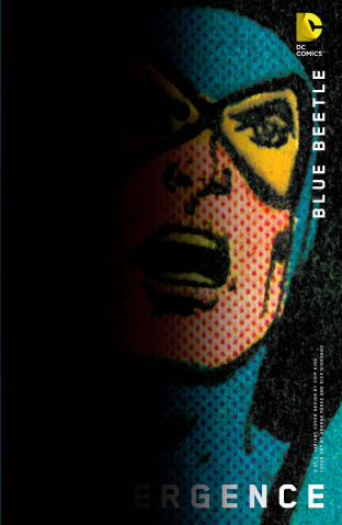 Convergence: Blue Beetle #2 (Chip Kidd Cover)