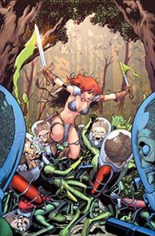 Mars Attacks / Red Sonja #3 (20 Copy Kitson Virgin Cover)