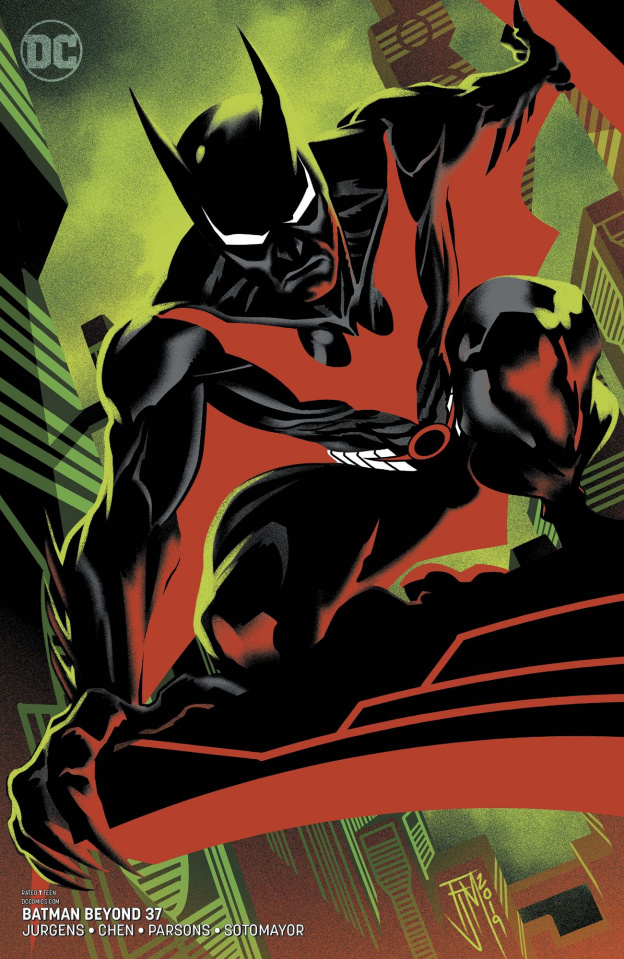 Batman Beyond #37 (Variant Cover)