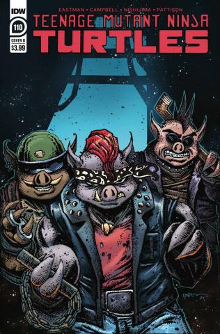 Teenage Mutant Ninja Turtles #110 (Eastman Cover)