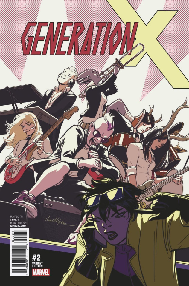 Generation X #2 (Lopez Cover)