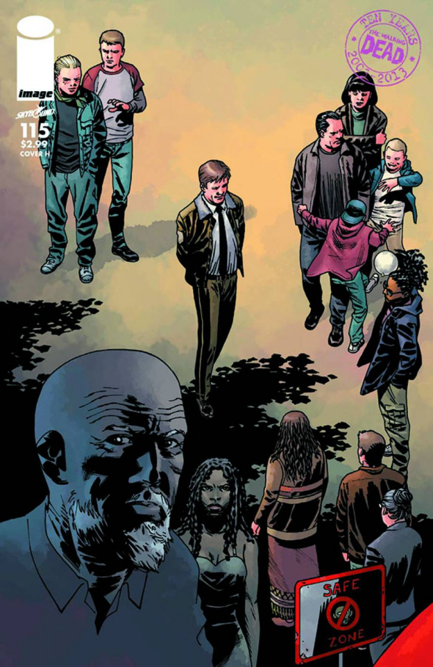 The Walking Dead #115 (Cover H)