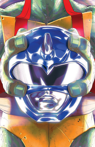 Power Rangers / Teenage Mutant Ninja Turtles #3 (Don Montes Cover)