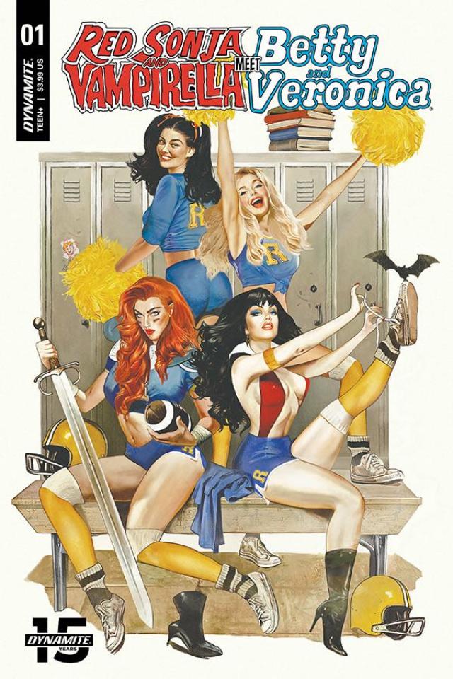 Red Sonja and Vampirella Meet Betty and Veronica #1 (CGC Graded Fay Dalton Cover)