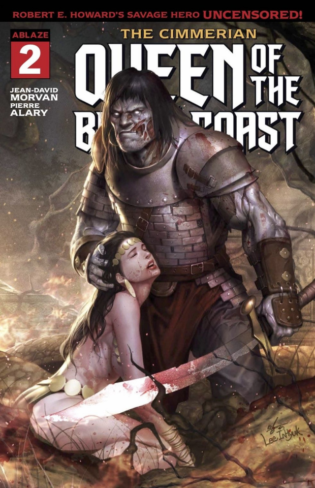 The Cimmerian: Queen of the Black Coast #2 (Inhyuk Lee Cover)