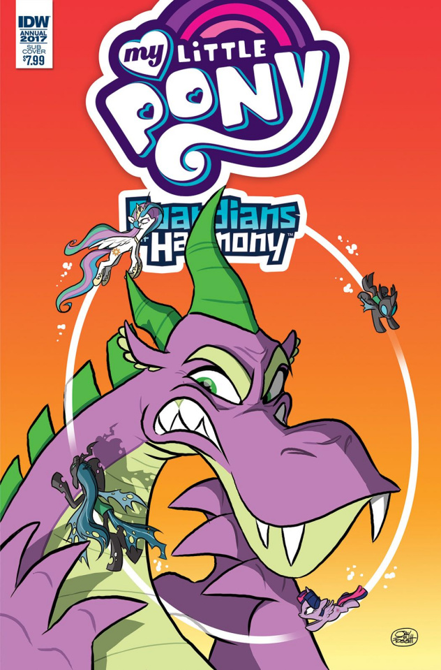 My Little Pony Annual 2017 #1 (Subscription Cover)