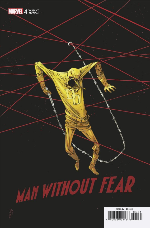 The Man Without Fear #4 (Shalvey Cover)