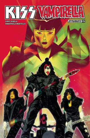 KISS / Vampirella #5 (Doe Cover)