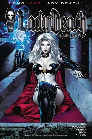 Lady Death: Oblivion Kiss #1