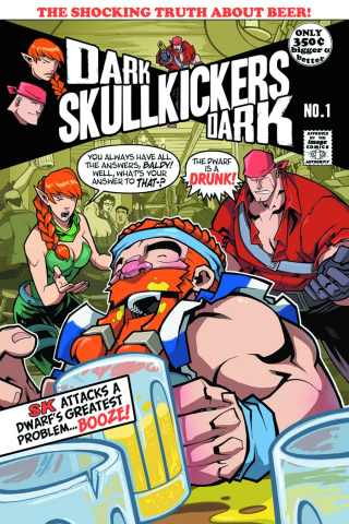 Dark Skullkickers: Dark #1 (Huang & Zub Cover)