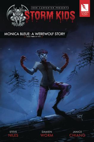Storm Kids: Monica Bleue - A Werewolf Story #2
