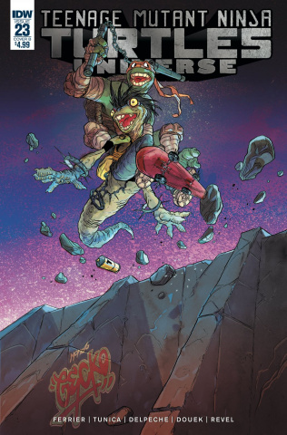 Teenage Mutant Ninja Turtles Universe #23 (Tunica Cover)