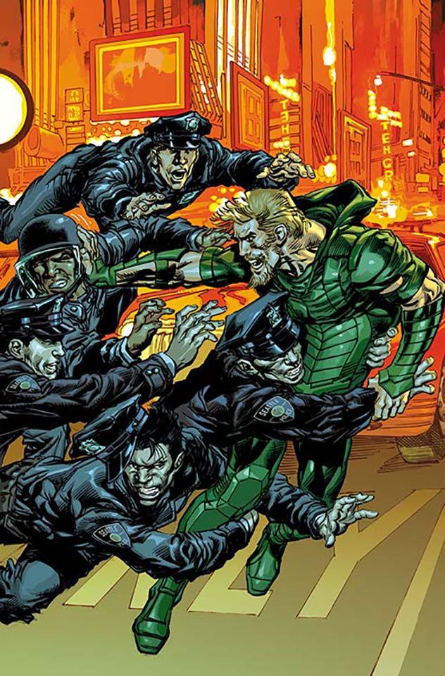Green Arrow #13 (Variant Cover)