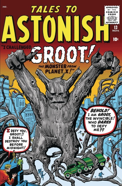 Groot #1 (True Believers Kirby Cover)