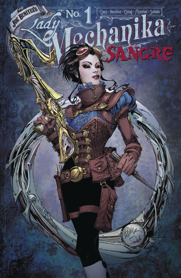 Lady Mechanika: Sangre #1