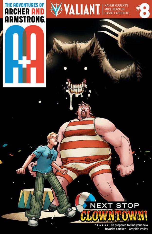 A&A #8 (Lafuente Cover)