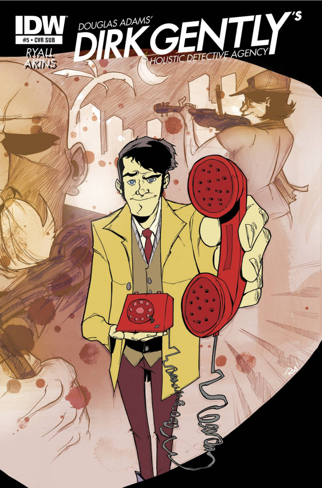 Dirk Gently's Holistic Detective Agency #5 (Subscription Cover)