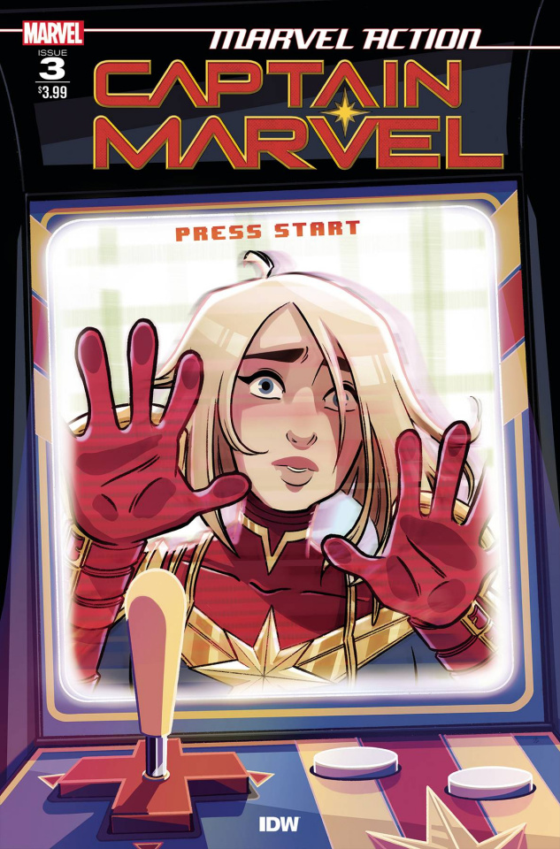 Marvel Action: Captain Marvel #3