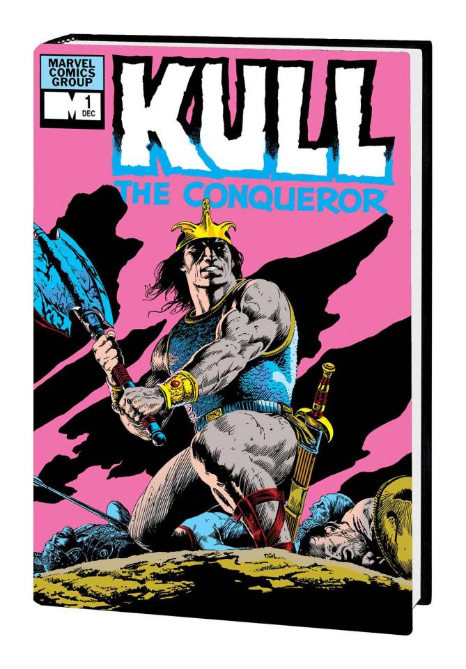 Kull the Conqueror: The Original Marvel Years (Omnibus Bolton Cover)