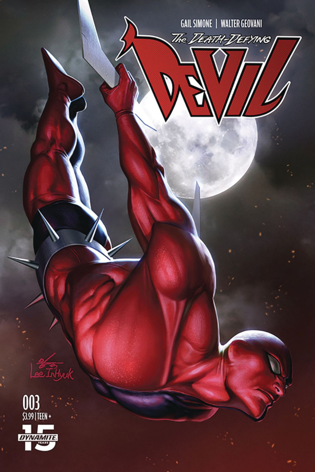 The Death-Defying Devil #3 (Lee Cover)