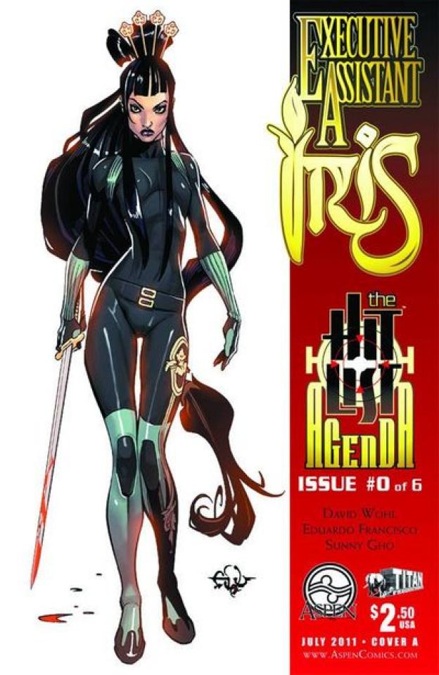 Executive Assistant Iris #0 (Francisco Cover)