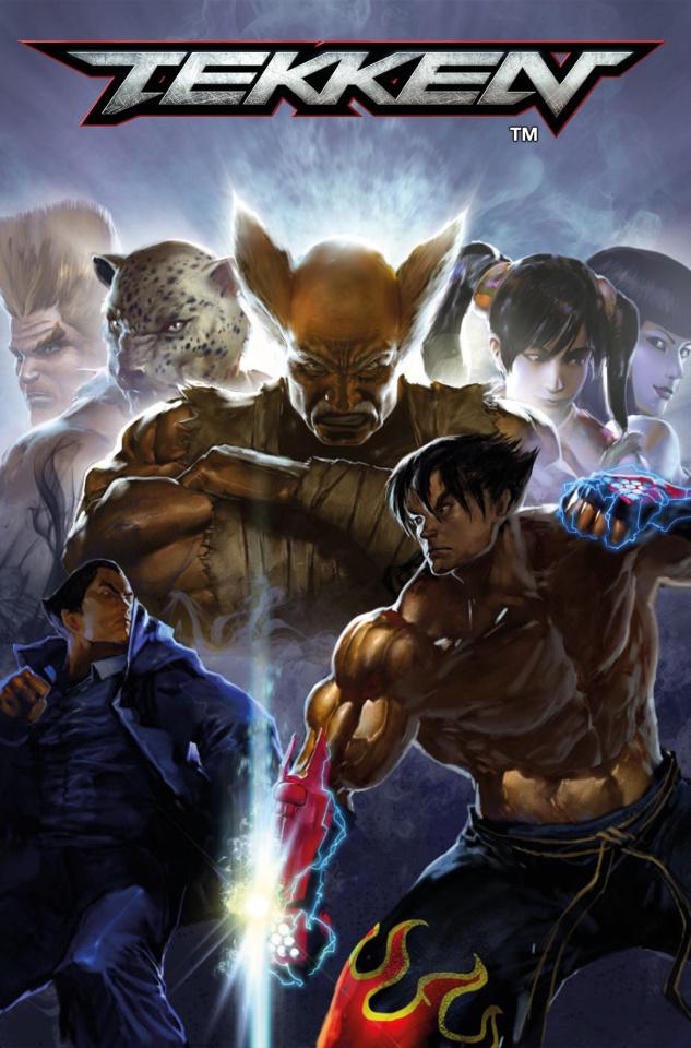 Tekken #3 (Anton K Cover)