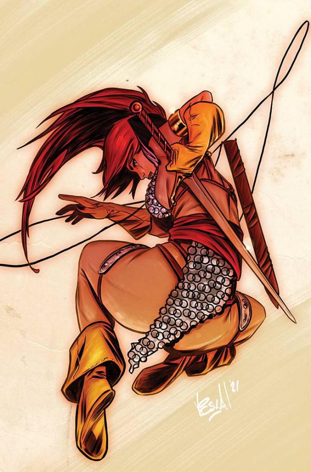 Red Sonja #28 (15 Copy Federici Virgin Cover)