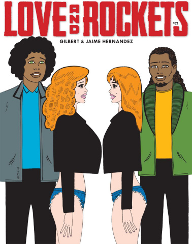 Love and Rockets Magazine #2