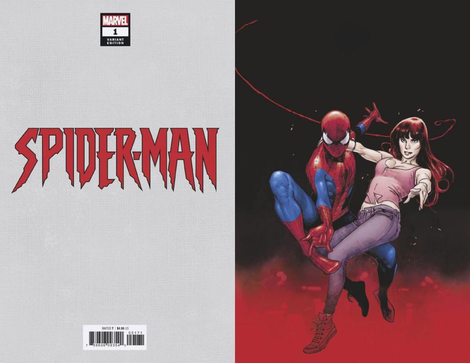 Spider-Man #1 (Coipel Virgin Cover)