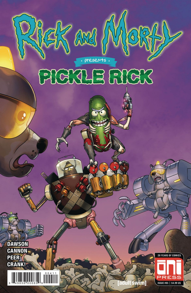Rick and Morty Presents Pickle Rick #1