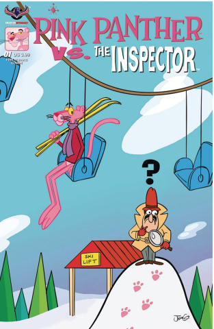 Pink Panther vs. The Inspector #1 (Pink Hijinks Cover)