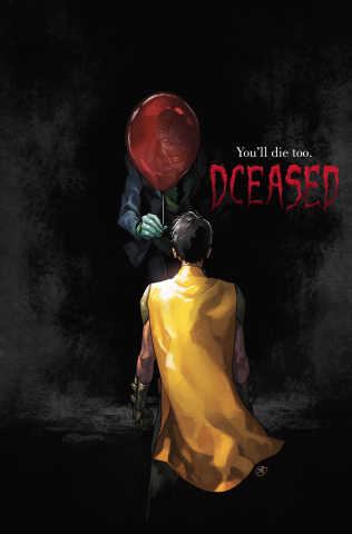 DCeased #1 (Horror Cover)