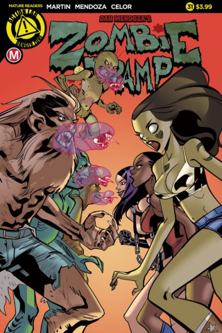 Zombie Tramp #31 (Celor Cover)