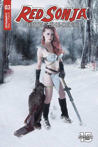 Red Sonja: Birth of the She-Devil #3 (Cosplay Cover)