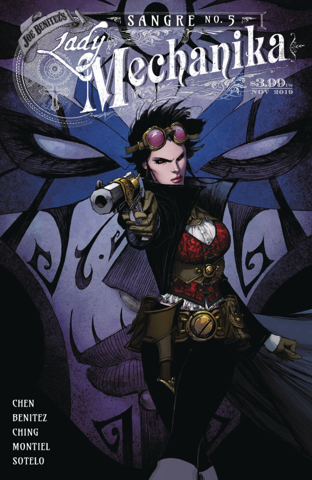 Lady Mechanika: Sangre #5